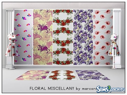 Текстуры Floral Miscellany