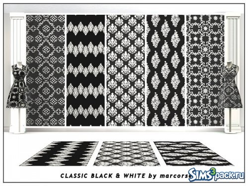 Текстуры Classic Black and White