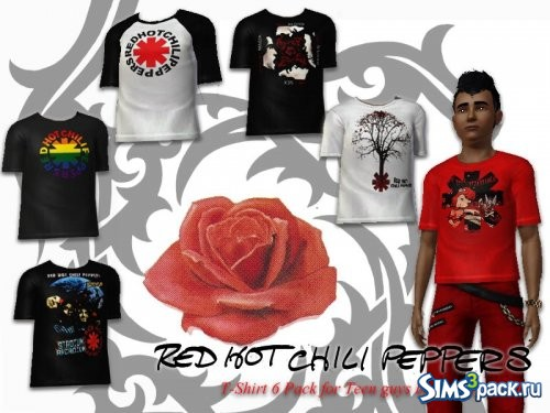 Футболки Red Hot Chili Peppers