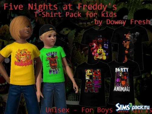 Футболки Five Nights At Freddy 02