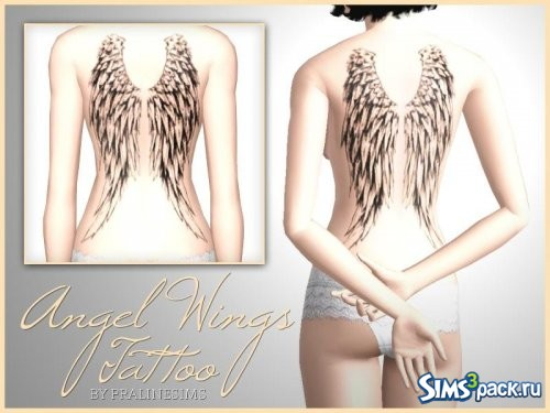 Татуировка Angel Wings