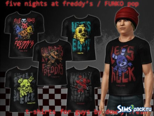 Футболки Five Night At Freddy