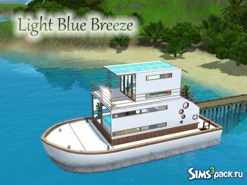 Плавучий дом Light Blue Breeze