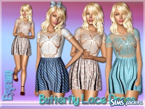 Платье Butterfly Lace