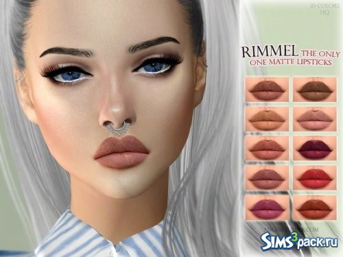 Матовая помада Rimmel the only one matte