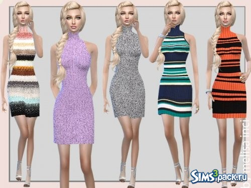 Платье Stripe Bodycon