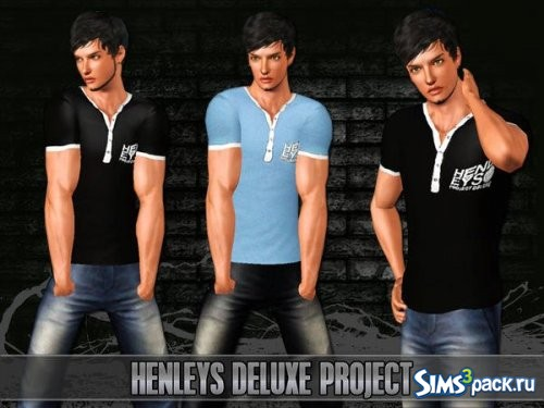 Футболка Henleys Deluxe Project