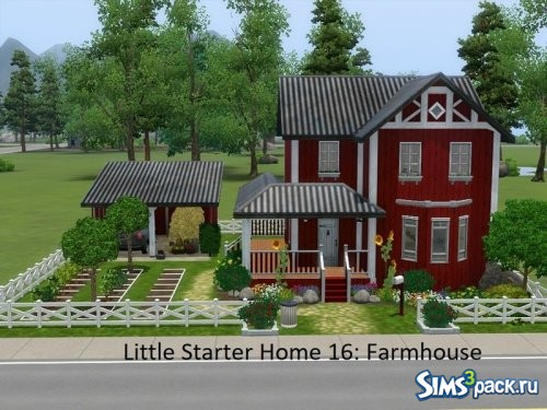 Дом Little Starter 16 Farmhouse