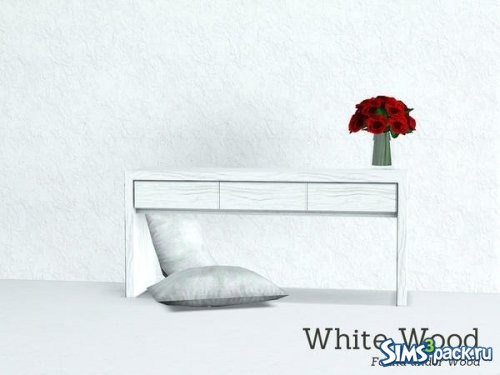 Текстура White Wood horizontal