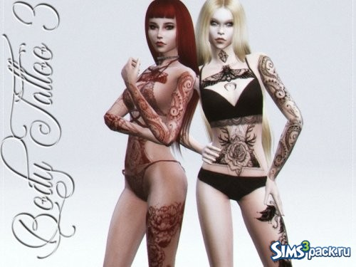 Татуировка Body Tattoo 3