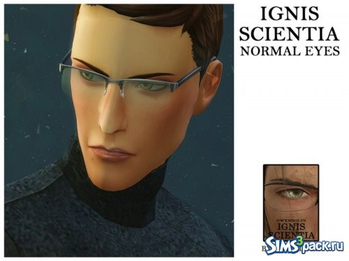 Линзы Ignis Scientia [Normal & Blind Eyes]