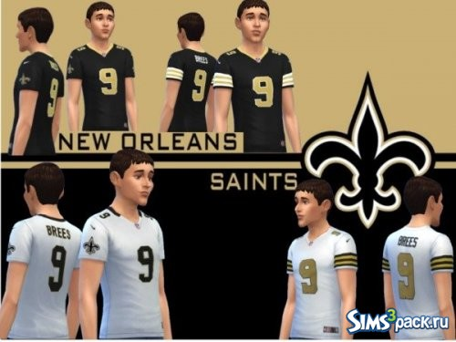 Футболка New Orleans Saints