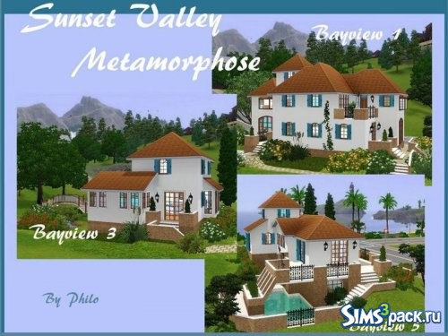 Дома Sunset Valley Metamorphose
