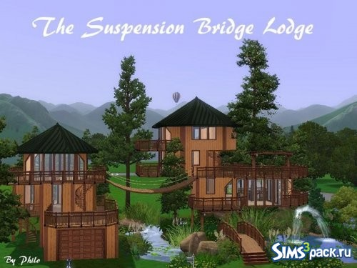 Дом Suspension Bridge Lodge