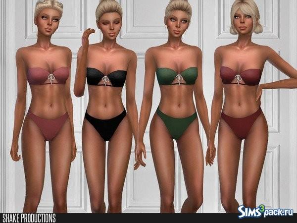 08cdea837b772 ... 2; 3; 4; 5. Оригинальное название - ShakeProductions 275 - Swimwear.  Раздельный купальник без бретелек. Представлен в 12 цветах.